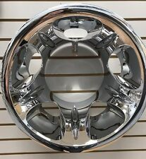 "NEW 2008-2010 Silverado 3500 1-ton Dually REAR 17"" Wheel Simulator CHROME"