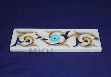 Hand made Bathroom Tiles And Borders Marble Inlay Pietra Dura Art Italian Design