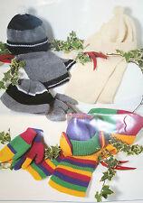 Cappello, Sciarpa, Guanti e muffole Knitting Pattern