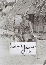 LOUISE JAMESON Signed 12X8 Photo Display TENKO & DR WHO Proof COA