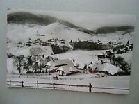 Ansichtskarte Bernau im Schwarzwald 1950 Wintersportplatz