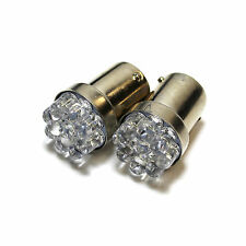 2x Peugeot Boxer Bright Xenon White LED Number Plate Upgrade Light Bulbs