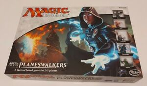 Magic The Gathering Arena of The Planeswalkers Hasbro Board Game ~ Opened ~