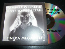 Vampire Weekend Meet Toy Selectah / Contra Megamelt  CD Single