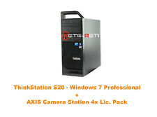 €550+IVA Lenovo ThinkStation S20 500GB SATA AXIS Camera Station 4xLic. Win 7 PRO