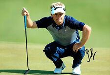 Soren KJELDSEN World Matchplay Golf 12x8 Photo Signed Autograph AFTAL COA