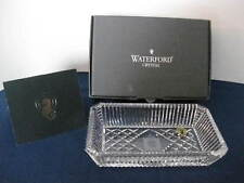 """WATERFORD """"HERITAGE COLLECTION"""" Dish Jewelry Marshall Fields Clock Retired  #ER"""
