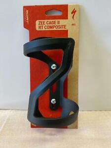 new Specialized ZEE CAGE II composite bicycle water bottle matte black RIGHT