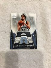 2007-08 SP Game Used Authentic Fabrics #AF-PG Pau Gasol Memphis Grizzlies Card