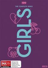 Girls - HBO Complete Series Season 1 2 3 4 5 6 1-6 DVD Box Set 12-Disc Set R4