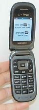Samsung Convoy Verizon DARK GRAY Flip Cell Phone 2MP Camera Rugged SCH-U640 C