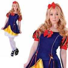 Girls Teen Sleeping Snow Beauty Ladies Fancy Dress Hen Party Costume Outfit