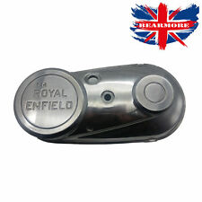 Royal Enfield Chain Case Cover Outer Bullet New Model 4 Speed Gear metal Chrome