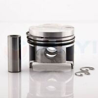 Piston Assembly & Rings (STD or .50mm) for Kubota D1105, D1105T, V1505, & V1505T