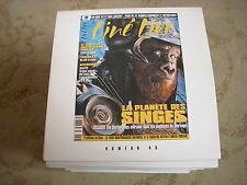 CD PROMO BANDES ANNONCES FILM CINE LIVE 45 04.2001 PLANETE des SINGES TIM BURTON