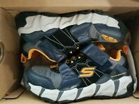 Skechers Adventure VELOCITREK Sneaker, Navy/Black, Boys Size 13.5 (NEW)