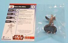 Star Wars Miniatures Dark Times Kota's Elite Militia #14/40 NEW NIB SWM