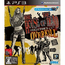 PS3 The House of The Dead: OVERKILL Director's Cut JAPAN