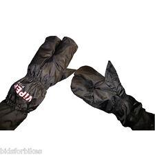 Guanti coperture nere per motociclista Uomo