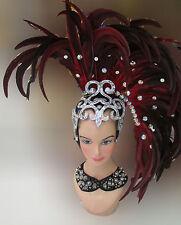 Da NeeNa H097 Feather Vegas Cabaret Showgirl Drag Headdress