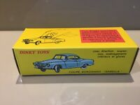 Dinky Toys Atlas Edition 549 Coupe Borgward 'Isabella' Boxed Excellent Condition