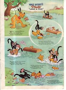 1941 Disney - Pluto Lend a Paw from Good Housekeeping