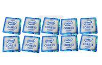 10 pcs Intel CORE i3 inside 6th GEN Generation Sticker Logo Decal 18mm x 18mm