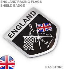 Angleterre Racing Drapeaux Bouclier Badge Union Jack Voiture TVR Vauxhall Jaguar Ford Mini