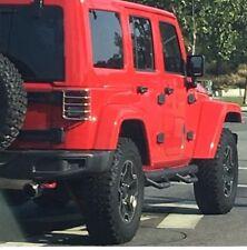 Fit 07-18 Jeep Wrangler JK 4 Drs Drop Side Step Nurf Bars