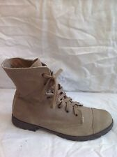 F&F Brown Ankle Suede Boots Size 7