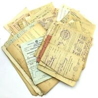 Soviet USSR Documents Agricultural Tax Lot of 81 Vintage Rare Old 1940s 1950s