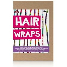 NPW Hair wrap and braid kit - Full instructions included, 12 strings included