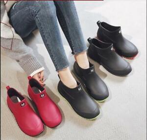Men Women Wellington Boots Rain Waterproof Wellies Outdoor Garden Gumboots Shoes
