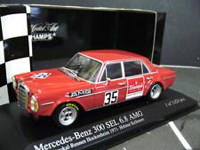 MERCEDES BENZ 300 SEL AMG 6.8 Hockenheim #35 Kelleners 1971 Minichamps RAR 1:43