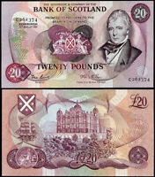 SCOTLAND 20 POUNDS 1981 P 114 BANKNOTE XF/AU
