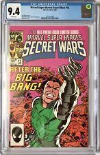 SECRET WARS VOL 1  #12 -  CGC NM (9.4) / WHITE PAGES / MINT CASE