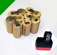 tauschpack PER originale METABO batteria 12 V AIR RAFFREDDATO AD con 3 Ah NiMH