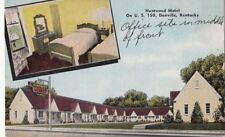 Postcard Huntwood Motel Danville KY