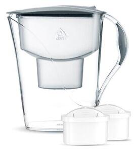Wasserfilterkanne Dafi Luna 3,3L Tischwasserfilter + 2 Filter Unimax Filterkanne