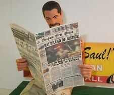 1/6 Scale Newspaper - Gotham Free Press Bat Brand of Justice for Bruce Wayne