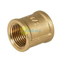"Female to Female BSP Coupler 1/2"" Brass Socket - Coupling"