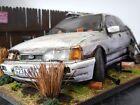 1:18 Ford Sierra Sapphire rs cosworth Barn Find Diorama custom model car Code 3