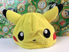 Pokemon PokePark Pikachu Hat Cap Costume cosplay Plush Stuffed Doll Halloween
