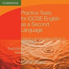 Practice Tests for Igcse English as a Second Language: Listening and Speaking, E