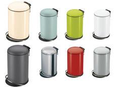 Müll- & Abfalleimer aus Edelstahl mit Tretpedal 13 L