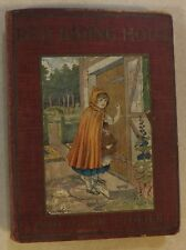 RED RIDING HOOD & OTHER STORIES ILLUSTRATED BARSE & HOPKINS RED CLOTH BOARDS