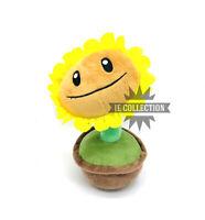 PIANTE CONTRO ZOMBI GIRASOLE CON VASO PELUCHE sunflower plush plants vs zombies