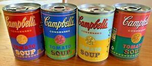 Andy Warhol 50th Anniversary Pop Art Campbell's Soup Cans, Ltd Edition, Set of 4