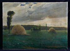 Gabriel MARECHAL (XIX-XX) Paysage impressionnisme 65 x 47,5 cm Musée Bourges