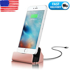 Desktop Charger Stand Docking Station Sync Dock Cradle For iPhone Android Phone